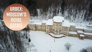 Urban Exploration: A deserted royal palace in Moscow - Video