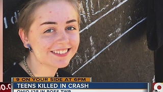 Teenage friends killed in crash on Ohio 128 in Ross Township - Video