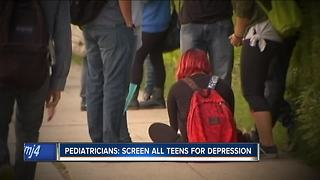 Pediatricians: Screen all teens for depression - Video