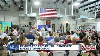 Democratic presidential candidate Julian Castro makes stop in Omaha