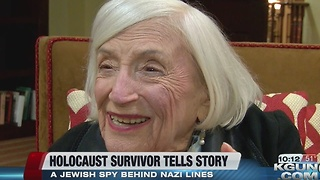 96-year-old Holocaust survivor shares story - Video