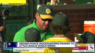 Grosse Pointe Woods/Shores team playing with house money at LLWS