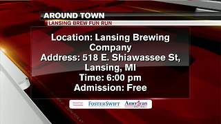 Around Town 6/11/18: Lansing Brew Fun Run - Video