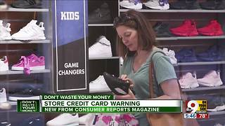 Beware high interest rate on store credit card - Video