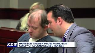 Man found not guilty in murder - Video