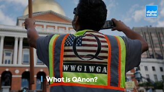 What is QAnon and why is it being banned from social media?