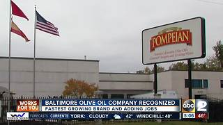 Baltimore olive oil company recognized by Mayor Pugh - Video
