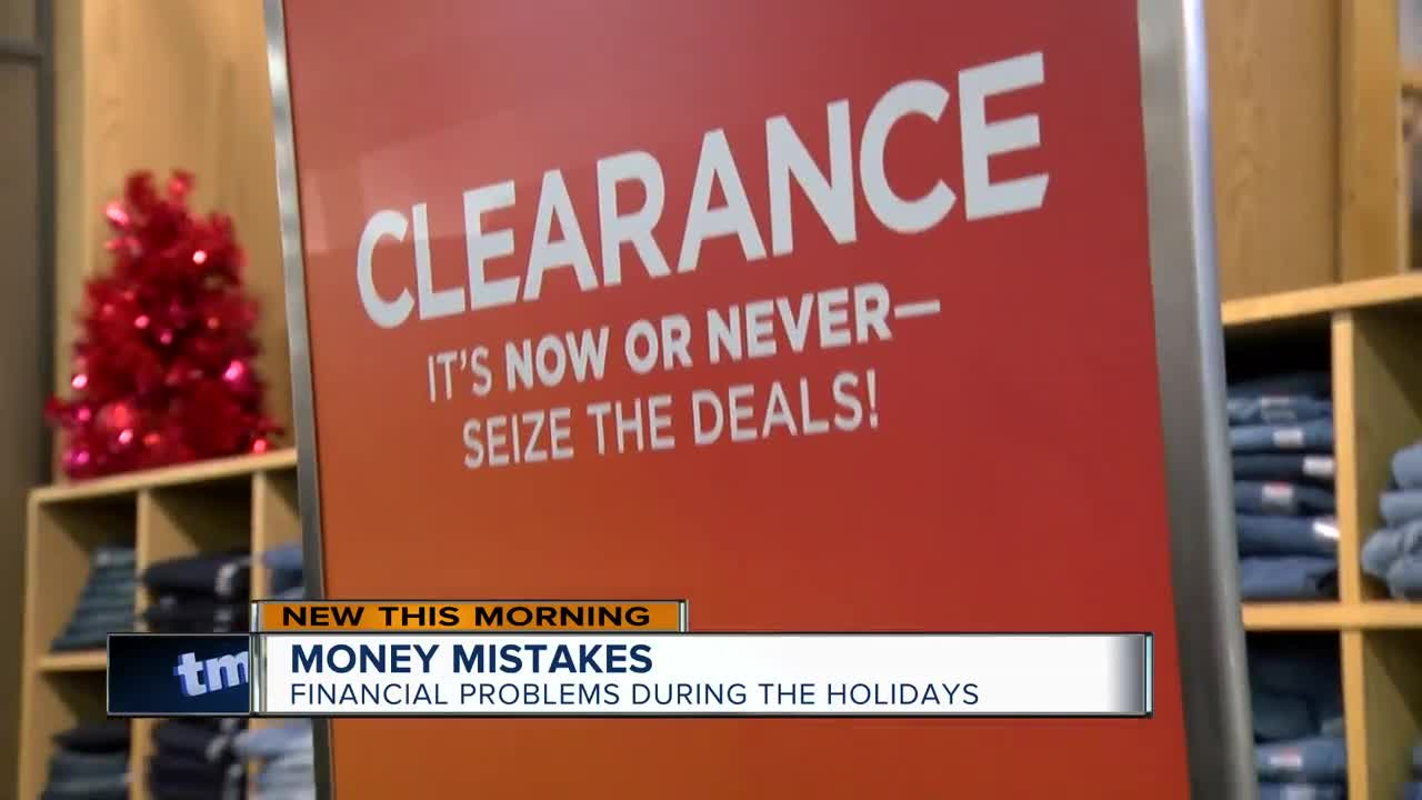 The biggest financial mistakes during the holidays