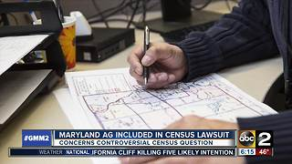 Maryland part of lawsuit over census question - Video