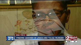 A West Tulsa family commemorates a painful milestone, 10 years since loved one was shot - Video