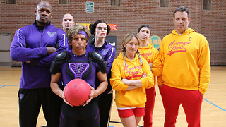 Dodgeball Cast Reunites for Charity Game - Video
