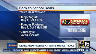 School deals and freebies at Tempe Marketplace - Video