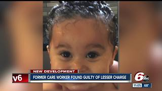 Speedway daycare employee found guilty in death of 11-month-old child - Video
