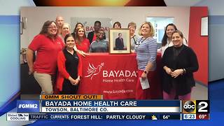 Bayada Home Health Care says good morning - Video