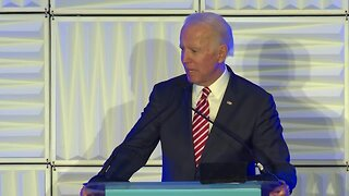 Biden accidentally tells crowd he's a Democratic candidate for United States Senate