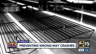 ADOT wrong-way detection system catches driver going wrong-way on I-17 - Video