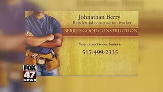 1. Local man shares experience with contractor who didn't finish job
