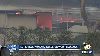 Let's Talk: 10News takes viewer feedback - Video