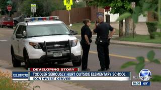 Boy rushed to hospital after mom's call from school parking lot - Video