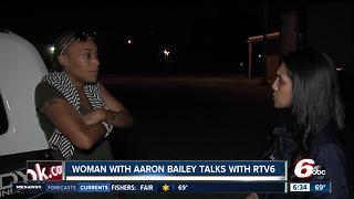 Woman with Aaron Bailey talks with RTV6 - Video