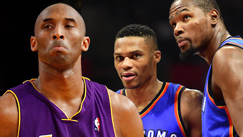 Kobe Bryant Is Allegedly The Reason Why Russell Westbrook & Kevin Durant Could Not Get Along