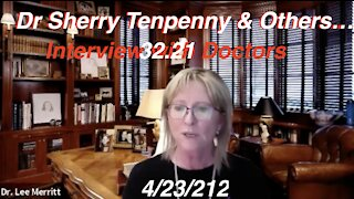 4.23.21 Interview with Dr Sherry Tenpenny & Dr. P Following Our Same Day Livestream