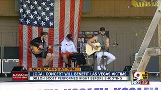 Concert will benefit Las Vegas shooting victims - Video