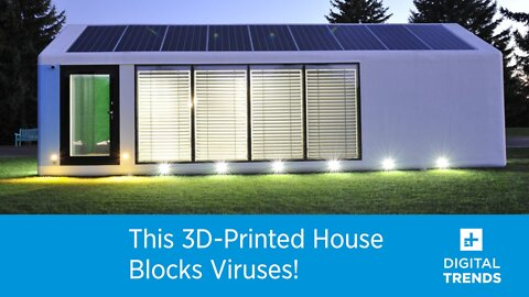 This 3D-Printed House Blocks Viruses!
