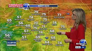 Some much needed moisture for Colorado - Video