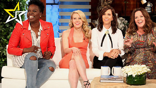 New 'Ghostbusters' Cast Visits 'Ellen Show' And Brings The Laughs