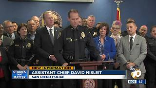 New SDPD Chief chosen - Video