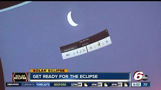 Getting ready for the solar eclipse - Video