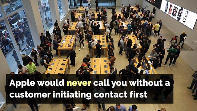 Would Apple Inc  Call Customers to Alert Them to Suspicious Activity?
