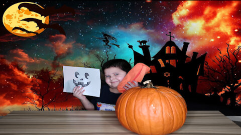 Noah's Pumpkin Carving For Halloween 2020: Happy Halloween