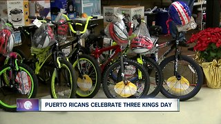 Annual Three Kings Day celebration at the Olivencia Center