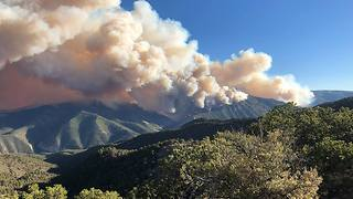 Dollar Ridge Fire Forces More Evacuations in Utah - Video