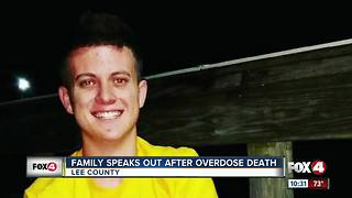 Family Speaks Out After Overdose Death - Video