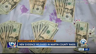 New evidence released in Martin County raids