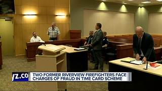 Former Riverview fire officials charged in multi-year time card fraud scheme