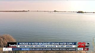 Increase in water replenishes groundwater supply - Video