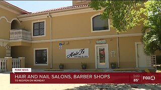 Governor DeSantis permits salons and barbershops to reopen