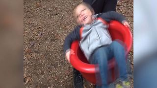 Boy's World Gets Turned Upside Down - Video