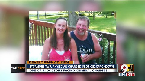 Sycamore Township physician charged in opioid crackdown