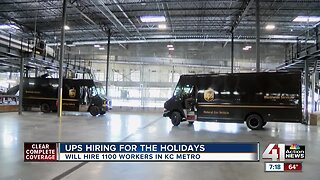 UPS looking to hire 1,100 workers in greater Kansas City metro