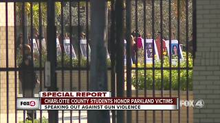 Charlotte County students honor Parkland victims -- 12pm report
