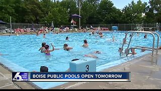 City of Boise opening outdoor pools on Friday, May 24