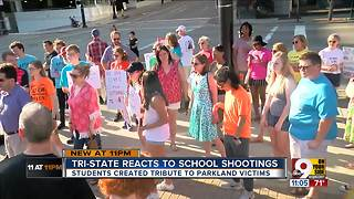 Tri-State reacts to school shootings - Video