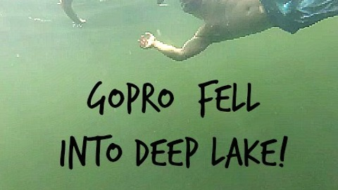 Footage of GoPro fall 10 ft into deep lake (and how we got it back)