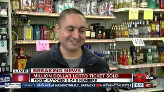 $2.6 million dollar lottery ticket sold in East Bakersfield