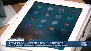 Staying connected from the hospital